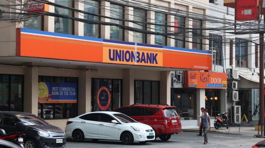 UnionBank branch in Manila, Philippines