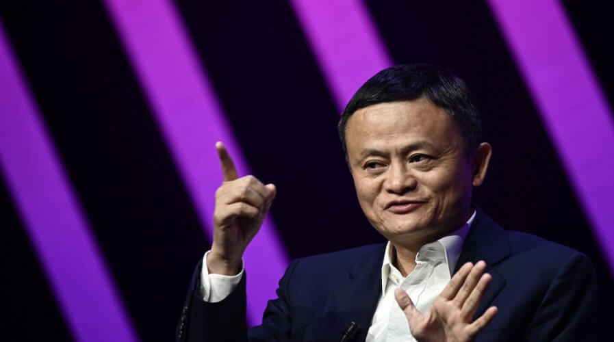 Jack Ma, former chairman & co-founder of Chinese e-commerce giant Alibaba