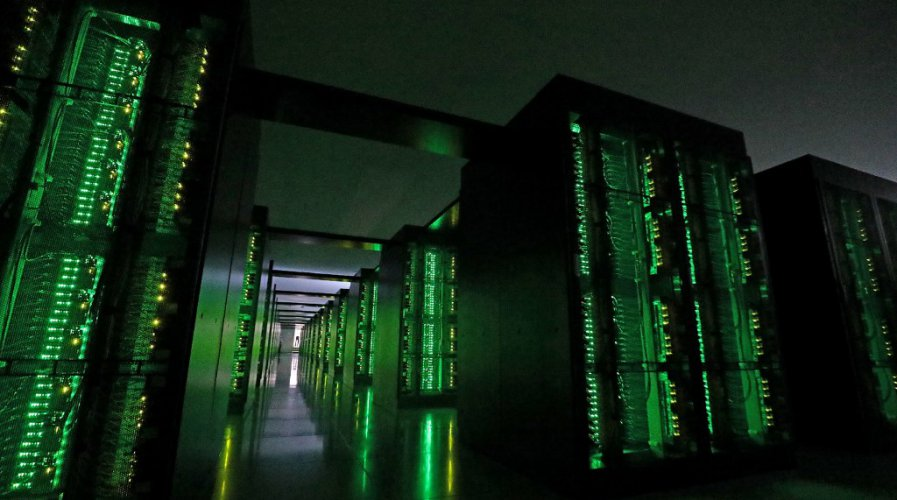 Japan's Fugaku supercomputer at the Riken Center for Computational Science in Kobe, Hyogo prefecture.