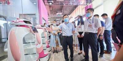 The World's First-ever Robot Restaurant Complex in Guangdong, China by Qianxi