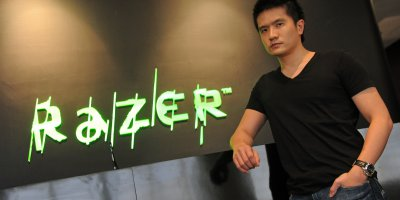 Tan Min-Liang, the youthful co-founder & CEO of gaming giant Razer, who have now diversified into fintech.